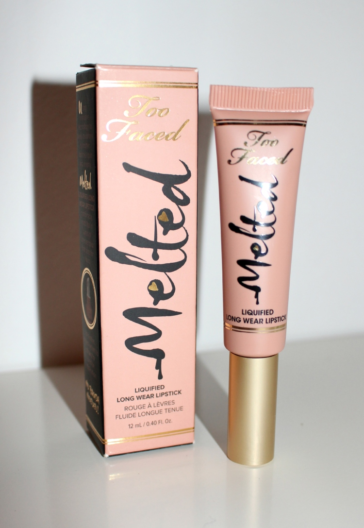 melted sugar too faced