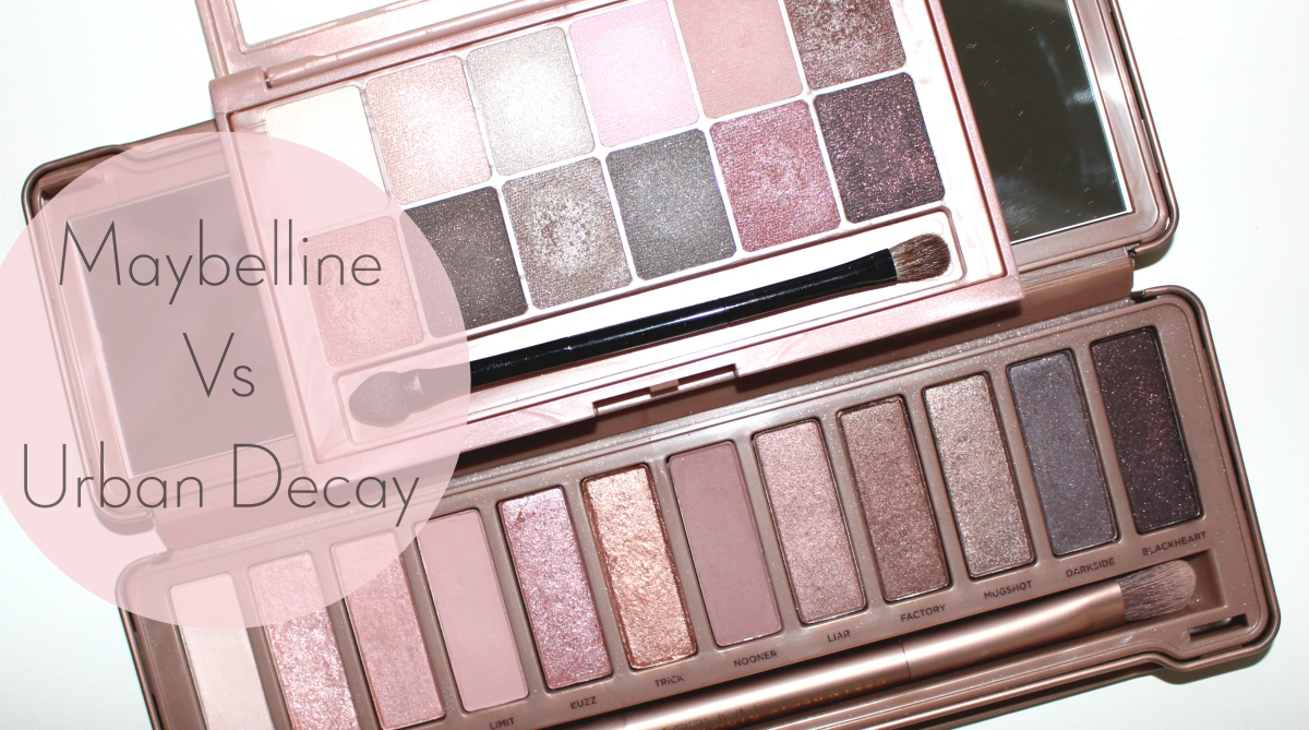 The Blushed Nudes di Maybelline Vs Naked 3 di Urban Decay - È un dupe?