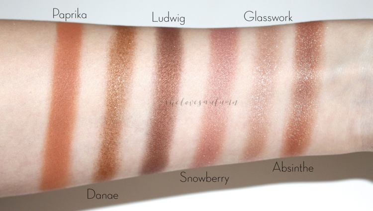 nabla-goldust-swatches-eyeshadows