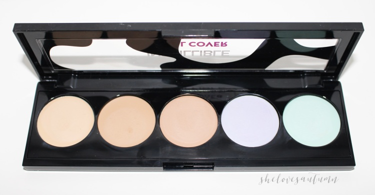 infaillible-total-cover-l'oreal-concealer-palette-open